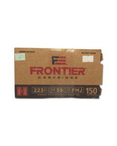 Hornady Frontier Cartridge 223 Remington 55 Grain Hornady Full Metal Jacket 150 Rounds