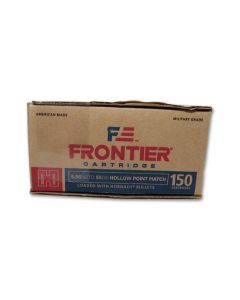 Hornady Frontier Cartridge 5.56 NATO  55 Grain Hornady Hollow Point 150 Rounds