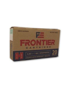 Hornady Frontier Cartridge 5.56x45mm NATO 68 Grain Jacket Hollow Point 20 Rounds