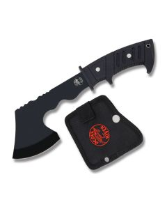 Frost Cutlery Ocoee River Field Hatchet Stainless Steel Blade Black Rubber Handle