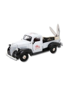 Frost Cutlery Son Heritage Collection Truck and White Smooth Bone Baby Trapper Set