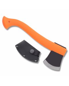 Mora Outdoor Axe with Orange Thermoplastic Handle and Carbon Steel Axe Blade Model M-12058