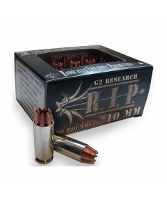 G2 Research RIP 10mm 115 Grain Fragmenting Solid Copper Lead Free 20 Rounds