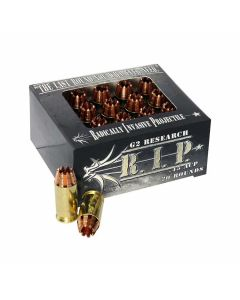 G2 Research RIP 45 ACP 162 Grain Fragmenting Solid Copper Lead Free 20 Rounds
