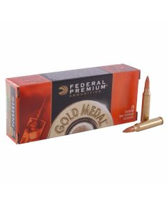 Federal Premium Gold Medal 223 Remington 69 Grain Sierra Match King Boat Tail Hollow Point 20 Rounds