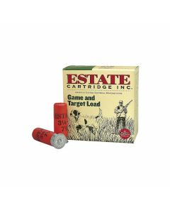 "Federal Estate Game & Target 12 Gauge 2.75"" 1oz #8 Lead Shot 25 Rounds"