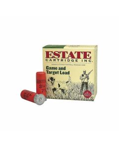 "Federal Estate Game & Target 20 Gauge 2.75"" 7/8oz #6 Lead Shot 25 Rounds"