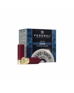 "Federal Game Shok 16 Gauge 2.75"" 1 oz #7.5 Lead Shot 25 Rounds"