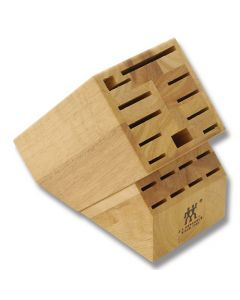 Henckels TWIN 19-Slot Hardwood Knife Block (Empty)