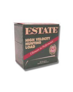 "Federal Estate High Velocity Hunting Load 12 Gauge 2.75"" 1-1/4 oz #4 Lead Shot 25 Rounds"