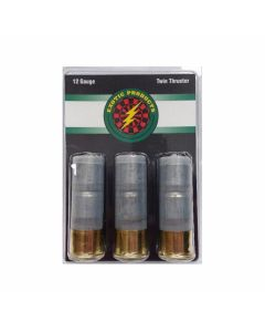 """Exotic Products Twin Thruster 12 Gauge 1 oz Lead Slugs 2-3/4"""" 3 Rounds"""