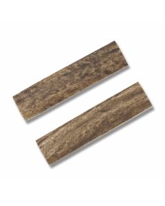 "Genuine India Stag Handle Slab Pairs Measures 2.75"" x .625"""