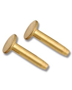 "Brass Cutlery Rivet - 5/8"""