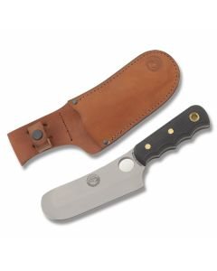 "Knives of Alaska Alaskan Brown Bear with SureGrip Handles and D2 Tool Steel 5.875"" Cleaver Plain Edge Blades Model 00001FG"