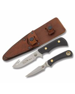 Knives of Alaska Whitetal Hunter and Cub Bear Combo with SureGrip Handles and D2 Tool Steel Plain Edge Blades Model 00199FG