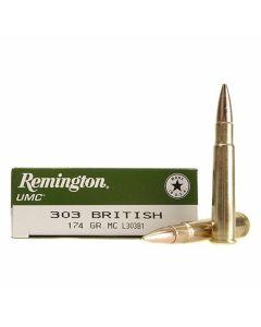 Remington UMC 303 British 174 Grain Full Metal Jacket 20 Rounds