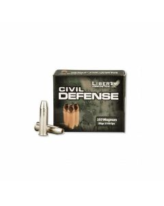 Liberty Civil Defense 357 Magnum 50 Grain Fragmenting Hollow Point Lead Free 20 Rounds