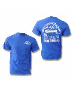 Smoky Mountain Knife Works T-Shirt - Blue - Small