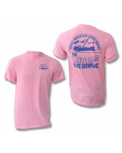 Smoky Mountain Knife Works T-Shirt - Pink - Small