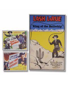 3 Lash Larue Posters