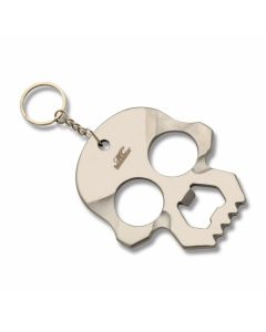 Master Cutlery Silver Skull Self Defense Keychain