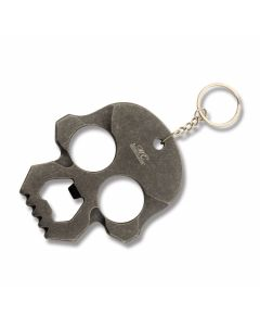 Stone Wash Skull Self-Defense Keychain