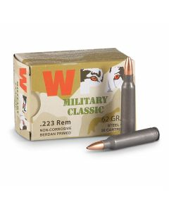 Wolf Military Classic 223 Remington 62 Grain Hollow Point 500 Rounds