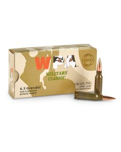 Wolf 6.5 Grendel 100 Grain Full Metal Jacket 500 Rounds