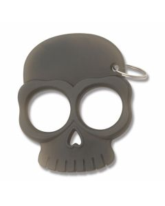 Master Cutlery Glow In The Dark Skull Keychain - Black