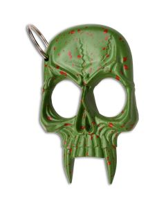 Green Skull Knuckles With Key Ring
