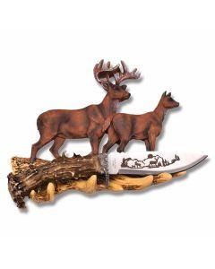 Wildlife Display Knife - Deer