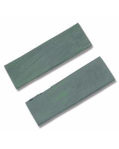 Green Smooth Bone Handle Slab