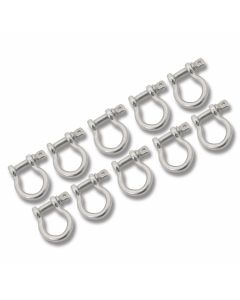 Metal Paracoard Buckle 10 Pack