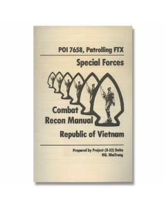 U.S. Military Field Manual - Combat Recon Republic of Vietnam/Special Forces Project Delta