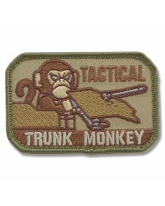 "Mil-Spec Monkey ""Tactical Trunk Monkey"" Patch - Multi Camo Pattern"