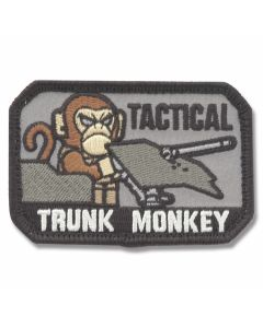 "Mil-Spec Monkey ""Tactical Trunk Monkey"" Patch - SWAT Camo Pattern"
