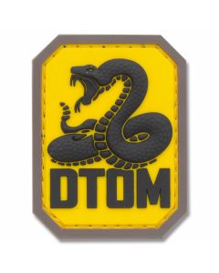 "Mil-Spec Monkey ""Don't Tread On Me"" Rubber Patch - Full Color"
