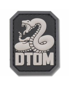 "Mil-Spec Monkey ""Don't Tread On Me"" Rubber Patch - SWAT"