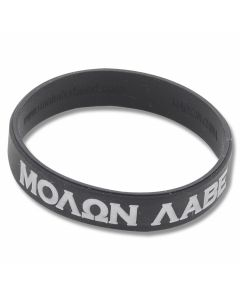 Mil-Spec Monkey Molon Labe Bracelet - Black - Medium