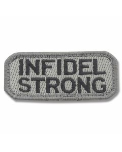 "Mil-Spec Monkey ""Infidel Strong"" Patch - Dark ACU Camo Pattern"