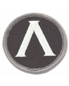Mil-Spec Monkey Lambda Shield Patch - SWAT Camo Pattern