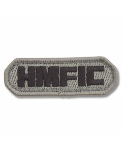 "Mil-Spec Monkey ""H.M.F.I.C."" Patch - Dark ACU Camo Pattern"