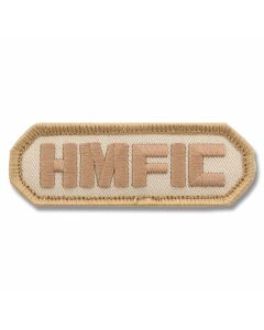 "Mil-Spec Monkey ""H.M.F.I.C."" Patch - Desert Camo Pattern"
