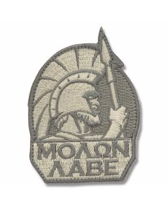 Mil-Spec Monkey Spartan Warrior Patch - Light ACU Camo Pattern