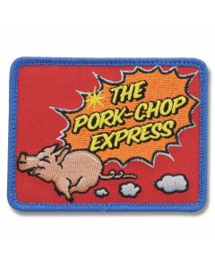 "Mil-Spec Monkey ""The Pork-Chip Express"" Patch - Full Color"