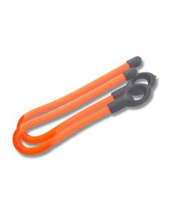 "NITE IZE Gear Tie Loopable Twist Tie 6"" Bright Orange 2-Pack Model GLS6-31-2R7"