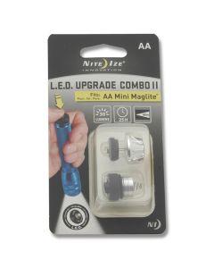 NITE IZE LED Upgrade II Combo Fits AA Mini Maglite