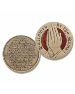 Military Challenge Coin - The Lord's Prayer