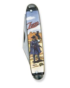 """Colonial Zorro Novelty Knife 3.50"""" with Acrylic Handles and Stainless Steel Blades Model 119"""