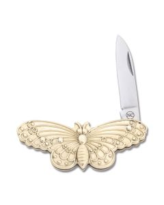 "Novelty Knife Co Butterfly 2.125"" with Cast Metal Handle and Stainless Steel Blade Model NV318"